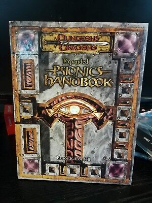 Expanded Psionics Handbook D&D 3.5 WOTC Nice Copy Dungeons and Dragons