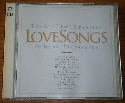 Various Artists - The All Time Greatest Love Songs, Vol. 1 (1996) CD ALBUM