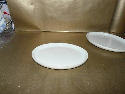 denby linen small oval side plate / tray