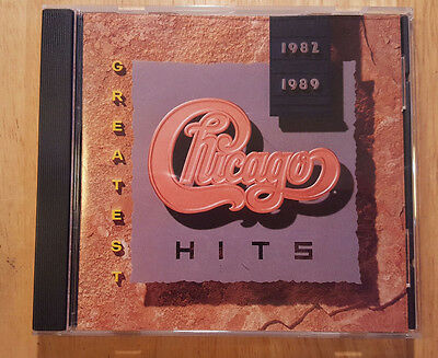 CD by Chicago Greatest Hits 1982-1989  (1989 Reprise)
