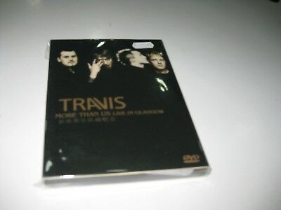 Travis Dvd More Than Us Live In Glasgow Asian Edition