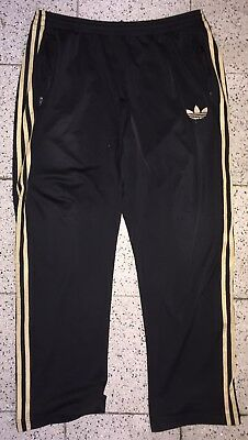 ADIDAS ORIGINALS FIREBIRD Hose Herren Trainingshose Gr XL schwarz gold