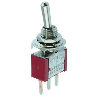 On-Off-On Miniature PCB Toggle Switch SPDT