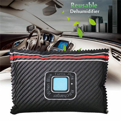 Car Dehumidifier Reusable Anti Mist Moisture Condensation Absorbing Bag Recycle#