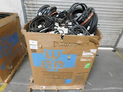 Lot of 611 Lbs Gates Wholesale Lot of Industrial Motor Belts T129265