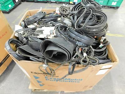 Lot of 564 Lbs Gates Wholesale Lot of Industrial Belts for Commerical Use T12950