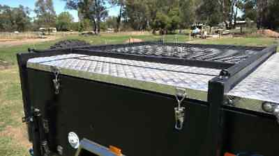 Dual Fold Hard Floor Full Off Road Camper Trailer Caravan Boat Rack