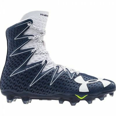 Under Armour Men's UA Highlight MC Football Cleats Shoes 1269693-411 Navy/White