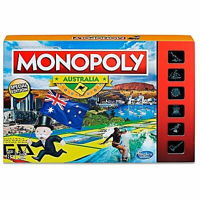 Monopoly Australia Edition Family Board Game Ages 8+