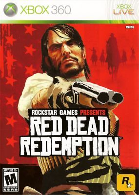 Red Dead Redemption Xbox 360 One Compatible Refurbished With Manual Free Ship
