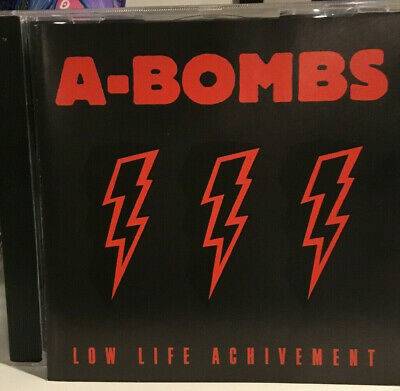 A-BOMBS – Low Life Achivement CD hellacopters swedish rock punk mc5 ac/dc sonic
