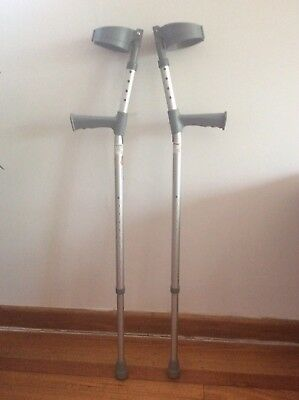 Coopers elbow crutches