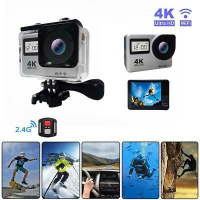 4K Touch Screen WIFI Dual Screen 12MP 30m Waterproof Action Camera Sport Cam