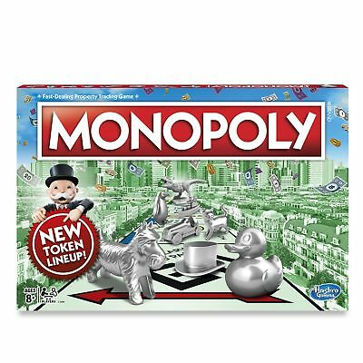 Monopoly Classic Family Board Game - Ages 8+ FAST DISPATCH