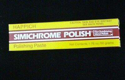 SIMICHROME Semichrome metal polish Tube 1.76 oz / 50 gram Jewelry Bakelite Metal