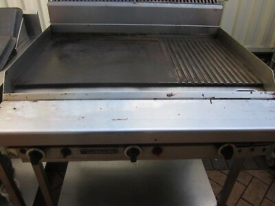 Garland Commercial 900mm Natural Gas Hot Plate Griddle Waldorf Goldstein