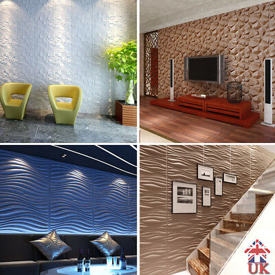 Natural Bamboo 3d Wall Panel White Decorative Wall Ceiling Tiles