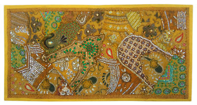 """Wall Hanging Tapestry Home Decor Ethnic Indian Vintage Handmade Mat 20X40"""" ##00A"""