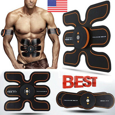 EMS Muscle ABS Fit Training Gear Abdominal Body Home Exercise Shape Fitness US82
