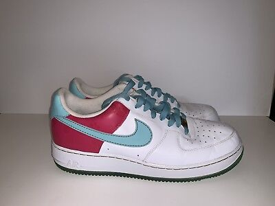9c4638db90bf Nike AIR FORCE 1 Hawaiian Gold Pink Blue Shoes Sneakers 315122-141 ~ Men 12