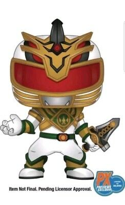 Funko Pop! Power Rangers Lord Drakkon Px Exclusive Shattered Grid In Hand!