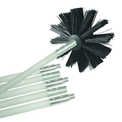 Bendable Chimney Pipe Cleaner Brush Boiler Dryer Sweep Cleaning Tools Flowery