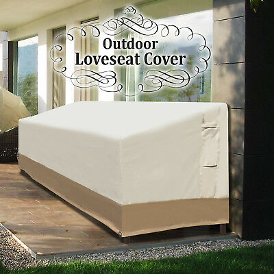 7.5'Lx2.8'W Large Patio Sofa Loveseat Bench Cover Furniture Protector Waterproof