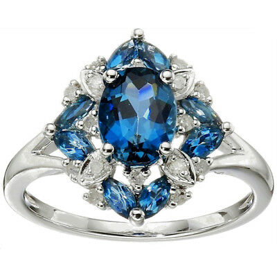 Ladies Vintage Design Ring Temperament Wedding Engagement Ring Jewelry Z