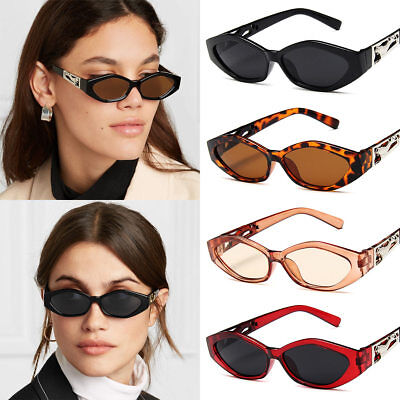 2019 New Sunglasses Fashion Ladies Small Frame Personality Cat Eyes Glasses HOT