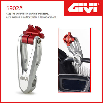 Supporto Gps / Phone [Givi] S902A In Alluminio - Honda Crf 1000 L Africa Twin