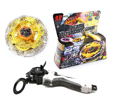 Beyblade Metal Fusion Kampf Meister 4D System BB119 Tod Quetzalcoatl + Launcher