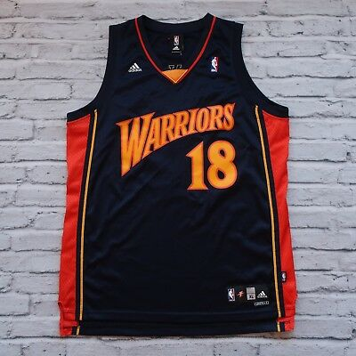 quality design 65b90 43894 VINTAGE GOLDEN STATE Warriors Marco Belinelli Away Jersey by Adidas Size XL