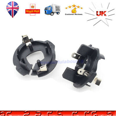 Fit For VW JETTA GOLF 5 Caddy Car H7 HID Xenon Lamp Bulb Adapter Holders Base