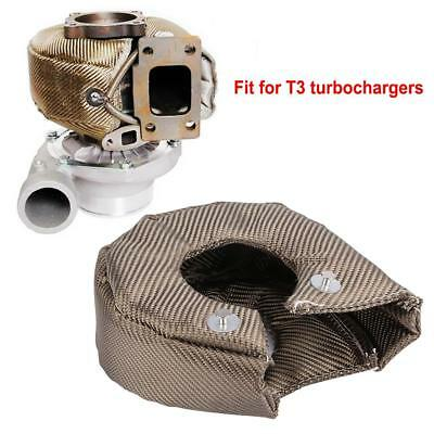 Titanium Turbo Blanket Heat Shield Barrier Turbo Charger Cover For T3 GT35 GT37