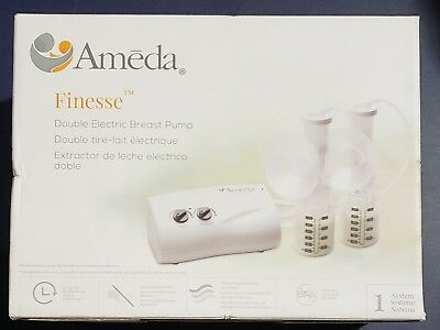 Brand New Ameda Finesse Double Electric Breast Pump