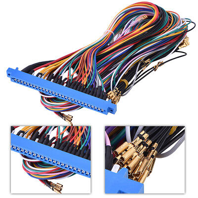 28pin Jamma Harness Wire Wiring For Arcade Game PCB Video Board