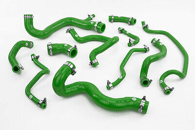 Stoney Racing Vauxhall Astra MK5 VXR Silicone Coolant Hose Kit Z20LEH Green