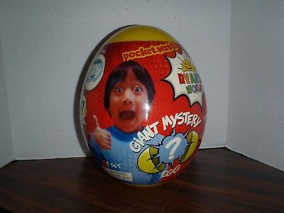 Ryan's World Giant Mystery Egg Toy Rare Hot Surprise Toys New & Sealed Series 1