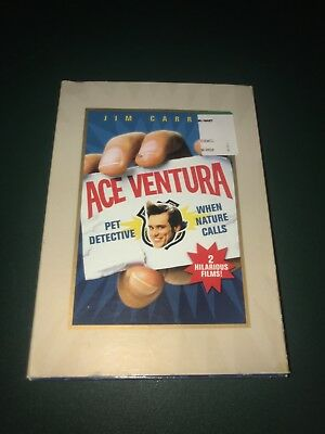 Ace Ventura: Pet Detective DVD and when nature calls combo