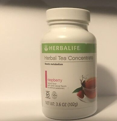 Herbalife Large 3.53oz Herbal Tea Concentrate - RAPSBERRY Exp 2020