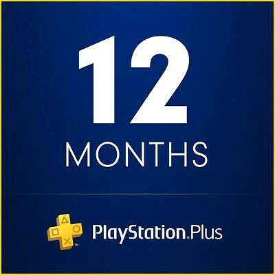 Playstation plus up to 6 and 12 months subscription + GAMES