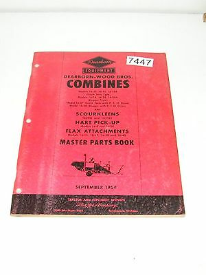Ford Dearborn Woods Combines 16-13, 14, 23, 24, 37, 38 Hart Pick-up Parts Book