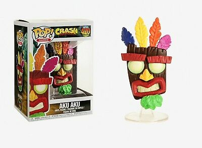 Funko Pop Games: Crash Bandicoot™ - Aku Aku Vinyl Figure Item #33915
