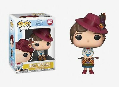 Funko Pop Mary Poppins Returns: Mary Poppins with Bag Vinyl Figure Item #33907