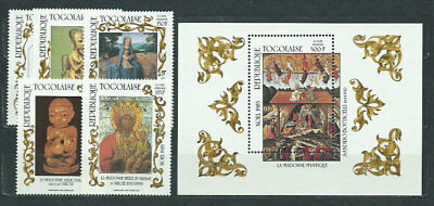 Togo - Mail Yvert 1187+A.575/8+H.241 Mnh Paintings