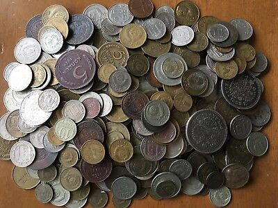 Russia 400+ coins lot 1800's-1900's (many silver)