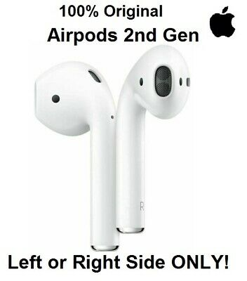 New Genuine Apple AirPods 2nd Generation Air Pods Select Left Right or Both