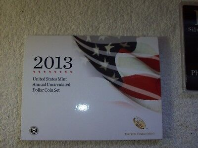 2013 Annual Uncirculated Dollar Coin Set