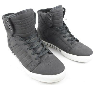 2be0587334a Supra Skytop Muska 001 Mens High Top Skate Shoes Size 8 Euro 41 Excellent!