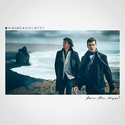 for KING & COUNTRY Burn The Ships NEW FACTORY SEALED CD Christian Worship w/ JOY